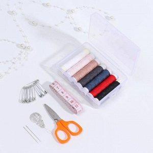 Набор для шитья, в пластиковой коробке
