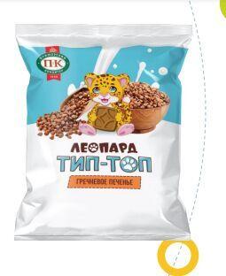 Печенье «Леопард Тип-Топ» гречневое
