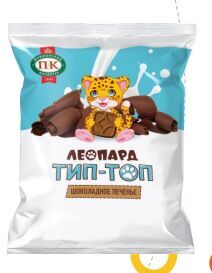 Печенье «Леопард Тип-Топ» шоколадное
