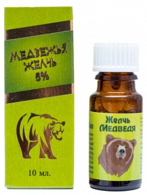 Настойка желчи медведя