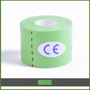Тейп 5 см Рулон 5 см*5 м. Китай Цвет ленты никоим образом не влияет на её лечебные свойства. Наиболее распространённый (стандартный)  размер кинезио тейпа, используемый как спортсменами, так и врачами