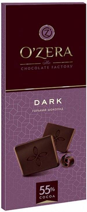 «OZera», шоколад горький Dark, 90г