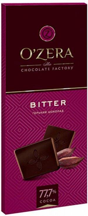 «OZera», шоколад горький Bitter, 90г