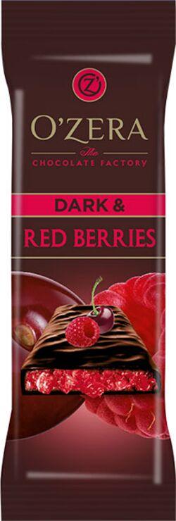 «OZera», шоколад горький Dark & Red berries, 40г
