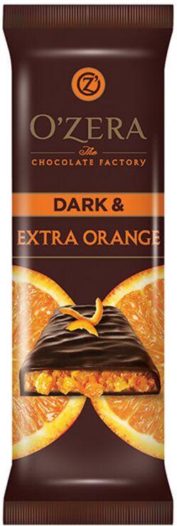«OZera», шоколад горький Dark & Extra Orange, 40г