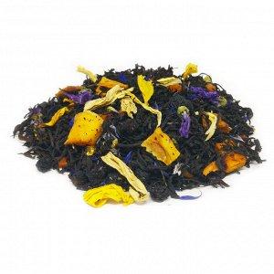 Черный фруктовый чай Блюбери манго