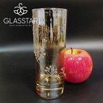 Набор стаканов Glasstar Цветочный кристалл / 3 шт. 330 мл