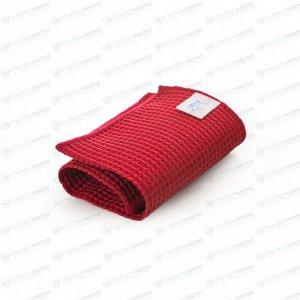 Салфетка Kolibriya Nimbi-42, вафельная, для стёкол и кафеля, 300x300мм, красная, арт. Nim-0541.red