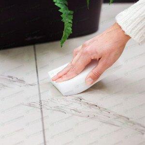 Губка-ластик Kolibriya Clean Magic-2, для чистки любых поверхностей, меламиновая, 360х70х30мм, арт. CM-0439