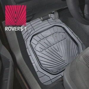 Коврики универсальные CARFORT ROVERS 1 для переднего и заднего ряда, серый цвет, ванночка, 4шт