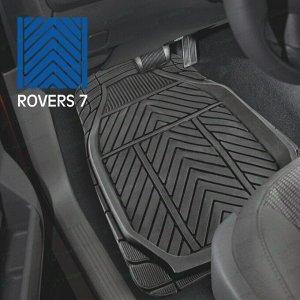 Коврики универсальные CARFORT ROVERS 7 для переднего и заднего ряда, черный цвет, 4шт