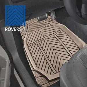 Коврики универсальные CARFORT ROVERS 7 для переднего и заднего ряда, бежевый цвет, 4шт