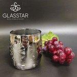 Набор стаканов Glasstar Графит одуванчик / 6 шт. 310 мл