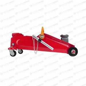 Домкрат гидравлический подкатной Carfort, 2300кг, подъем 140-350мм, сумка