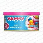 Ароматизатор на торпедо Yammy Bubble Gum (Бубль Гум), с растительным наполнителем, баночка 42г, арт. D020
