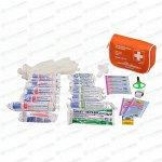 Аптечка автомобильная Airline в текстильном футляре, соответствует требованиям ГИБДД, арт. AM-01
