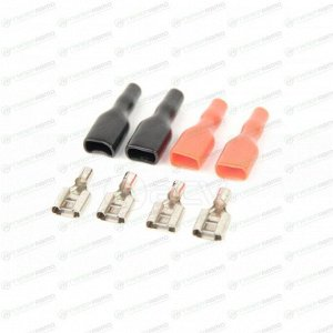 Клемма ACV RM37-1432 акустическая, комплект 4 шт (2 красные и 2 черные)