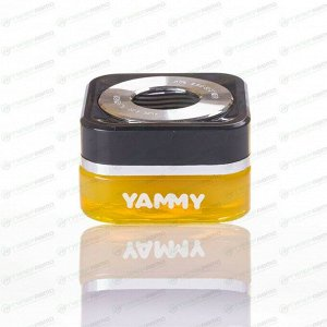 Ароматизатор на торпедо Yammy Squash (Свежесть), гелевый, флакон, арт. G013