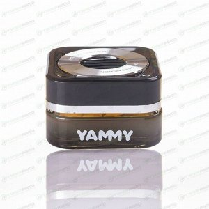 Ароматизатор на торпедо Yammy New Car (Новая машина), гелевый, флакон, арт. G016