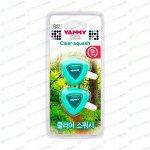 Ароматизатор в дефлектор Yammy Clear Squash (Свежесть), жидкий, клипса
