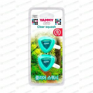 "Ароматизатор на дефлектор Yammy ""Clear Squash""  жидкий"