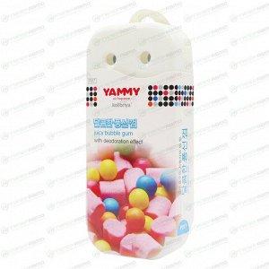 Ароматизатор под сиденье Yammy Bubble Gum (Бубль Гум), гелевый, плоский футляр, арт. P017