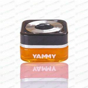 Ароматизатор на торпедо Yammy Sparkling Squash (Свежесть), гелевый, флакон, арт. G018