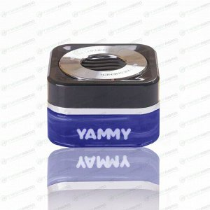 Ароматизатор на торпедо Yammy Blue Squash (Свежесть), гелевый, флакон, арт. G017