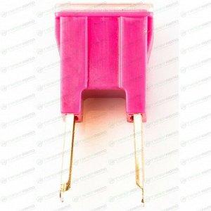 Предохранитель автомобильный Masuma, кассетный, папа (PAL S1041-1/FJ14), розовый, 30А, 32В, комплект 12 шт, арт. FS-002 (стоимость за упаковку 12 шт)
