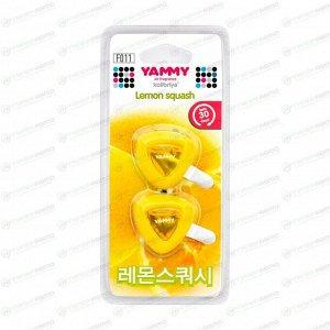 """Ароматизатор на дефлектор Yammy """"Lemon Squash"""" жидкий"""