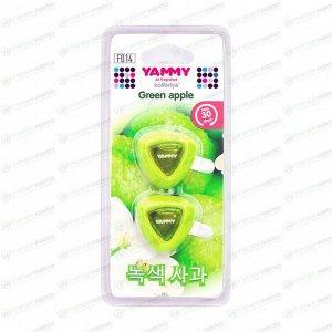 """Ароматизатор на дефлектор Yammy """"Green Apple"""" жидкий"""