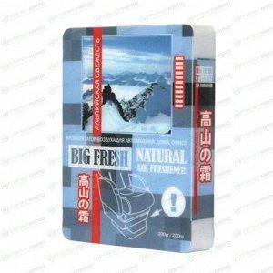 Ароматизатор под сиденье FKVJP Big Fresh Альпийская свежесть, гелевый, плоский футляр 200мл, арт. AR-BF18