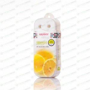 Ароматизатор под сиденье Yammy Lemon Squash (Лимонная свежесть), гелевый, плоский футляр, арт. P011