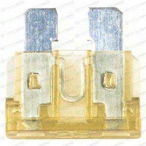 Предохранитель автомобильный Masuma, флажковый, стандартный (ATO S1035-2/FT), оранжевый, 25А, 32В, комплект 100 шт, арт. FS-037 (стоимость за упаковку 100 шт)