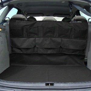Органайзер CARFORT CUBE на спинку задних сидений +коврик в багажник, черный цвет, размер 1110x1570мм