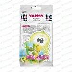 Ароматизатор подвесной Yammy Squash (Свежесть), картон с пропиткой, арт. C015