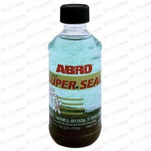 Герметик для блока цилиндров ABRO SS-822, термостойкий, с мелью, бутылка 240мл