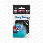 Ароматизатор подвесной Yammy Hong Kong (Гонконг), картон с пропиткой, арт. CSP01
