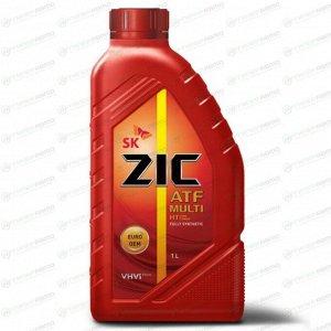 Масло трансмиссионное ZIC ATF Multi HT синтетическое, универсальное, 1л, арт. 132664