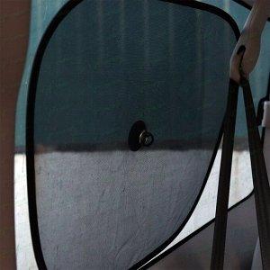 Шторка солнцезащитная на боковое стекло, 440x360мм, 2шт
