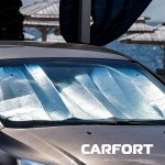 Шторка солнцезащитная CARFORT на лобовое стекло, 1480x800мм, 1шт