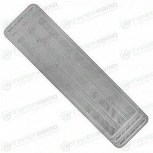 Коврик универсальный CARFORT ROVERS 10 для заднего ряда, серый цвет, размер 1450х375мм, 1шт