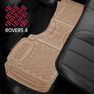 Коврик универсальный CARFORT ROVERS 4 для заднего ряда, бежевый цвет, размер 1580х435мм, 1шт