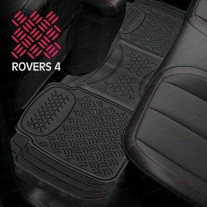 Коврик универсальный CARFORT ROVERS 4 для заднего ряда, черный цвет, размер 1580х435мм, 1шт