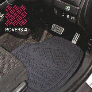 Коврики универсальные CARFORT ROVERS 4 для переднего ряда, черный цвет, 2шт