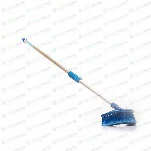 Щётка для мытья Carfort Cristal-21, с насадкой для шланга, длина ручки 135см, арт. CRL2121