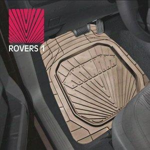 Коврики универсальные CARFORT ROVERS 1 для переднего и заднего ряда, бежевый цвет, ванночка, 4шт