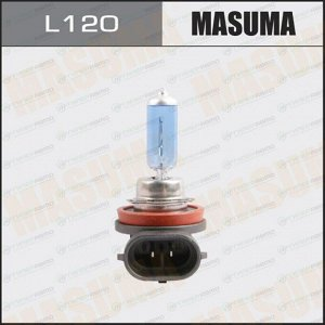 Лампа галогенная Masuma Blue Skyglow H11 (PGJ19-2, T11), 12В, 55Вт, 4200К, 1 шт