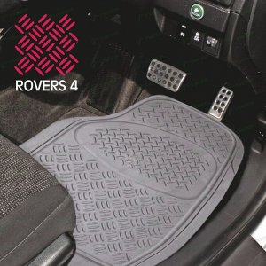 Коврики универсальные CARFORT ROVERS 4 для переднего ряда, серый цвет, 2шт