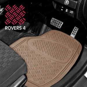 Коврики универсальные CARFORT ROVERS 4 для переднего ряда, бежевый цвет, 2шт